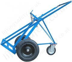 Double Cylinder Trolley Three Wheel