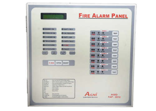 8 Zone Fire Alarm Systems