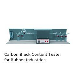 Carbon Black Content Tester for Rubber Industries