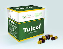 Smokers & Tobacco Chewers Dry Cough Remedy Tulcof Capsules