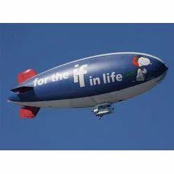Airplane Advertising Balloon