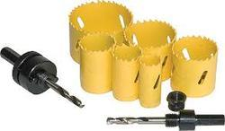 Metal Wile Hole Saw Kit, Size: 19-64 Mm