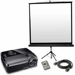 LCD Projector & Screen Rental
