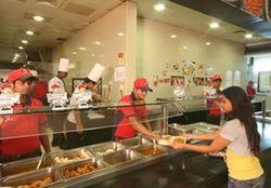 Corporate Cafeteria Catering
