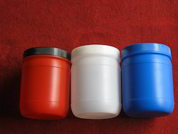 500 Ml Plastic Round Jars