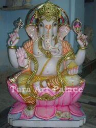 Ganesh Ji Marble Idol