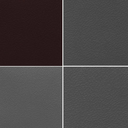 Grey Artificial Leather Cloth