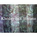 Printed Modern Silk Fabric