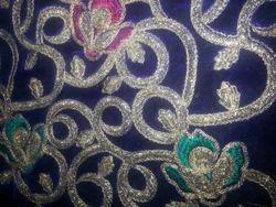 Traditional Velvet Embroidery Fabrics