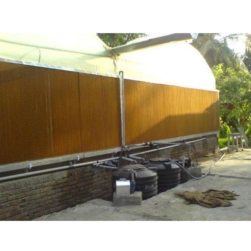 Water Distribution For Cooling Pad