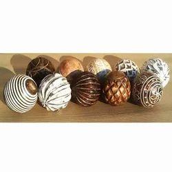 Texture Wooden Balls