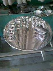 Silver Regular Thali Sets