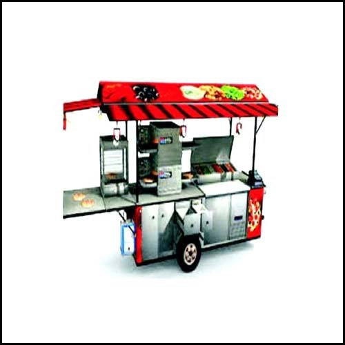 Silver Stainless Steel Food Carts