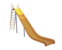 FRP Straight Slide Big Playground Equipment