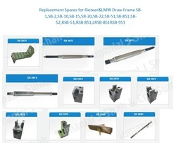 Spares Part of LMW Draw Frame