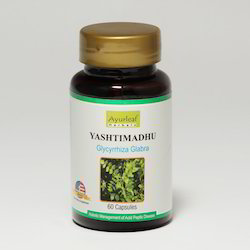Yashtimadhu Capsule, Packaging Type: Bottle