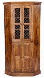 Wooden Corner Almirah