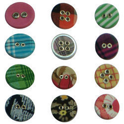 Jacket Fabric Button