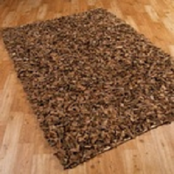 Leather Shag Rugs