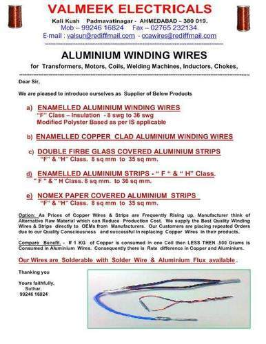 Super Enameled Aluminum Wires