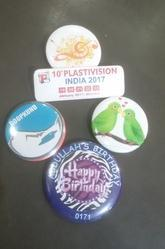 Lucky Plastics Printed Badges Service