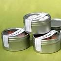 Tins with Clear Top Lids