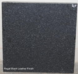 Regal Black Granite (Leather Finish Surface)