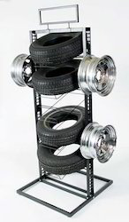 Tyres Display Rack