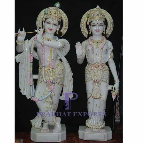 Marble Radha Krishna Statue Radha Krishan Marble Statue