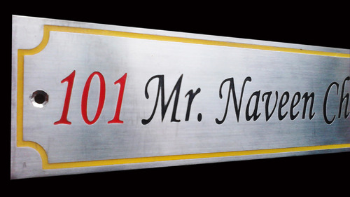 Steel Engraving Name Plates - View Specifications & Details of ...