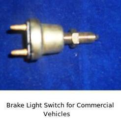 Brake Light Switch for Commercial Vehicles