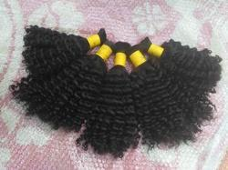 Virgin Bulk Curly Hair Extension