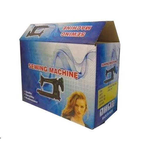 Corrugated Box for Sewing Machine
