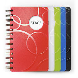 Synthetic Pu Leather Planner Notebook Diary, For Daily Notes, Yearly