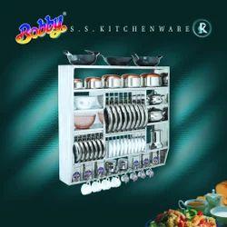 Designer SS Kitchen Stand