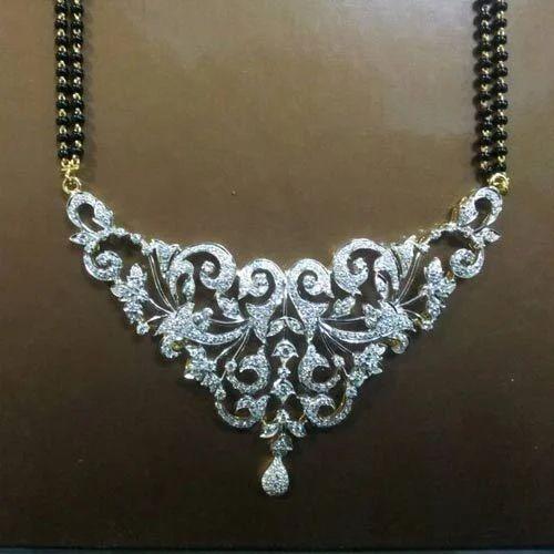 Designer Diamond Mangalsutra View Specifications