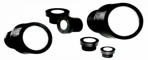 Porous Plastic Breather Vent Plugs Porous Plastic