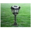 Solar Powered Lawn Lamp
