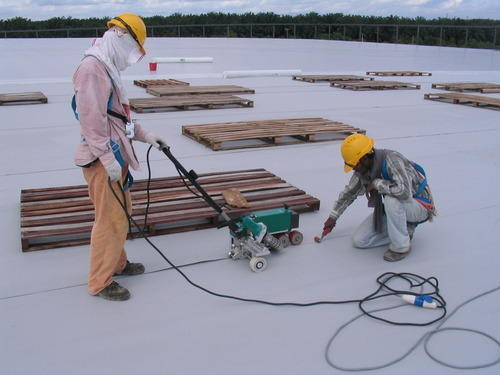 Acrlic,Pu Roof Waterproofing Systems, Brush, Thickness: 1-2 Mm, Rs 70  /square feet | ID: 8424620591