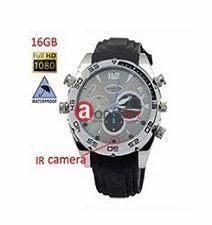 Spy Waterproof Wrist Watch