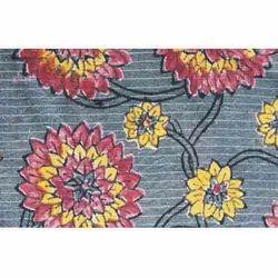 Grey Designer Cotton Fabric