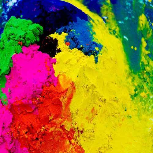 Effect Of Colors holi color - turmeric holi color powder manufacturer from  hathras