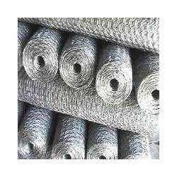 Silver Hexagonal Wire Mesh, for Industrial