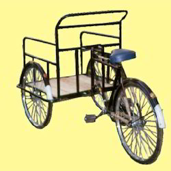 Cycle Rickshaw and Trolley
