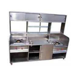 Stainless Steel Pav Bhaji Counter