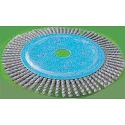Twist Knotted Circular Wire Brush Stringer Brush