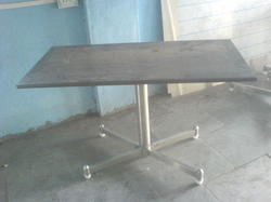 SS Stand Dining Table