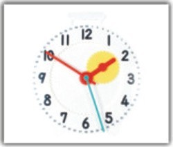 Geared Teacher Clock For Mathematics