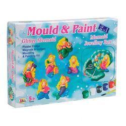 Mould & Paint Glitter Mermaid Toys