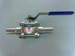Medium Pressure AMBIKA Weld Ball Valve, for Industrial